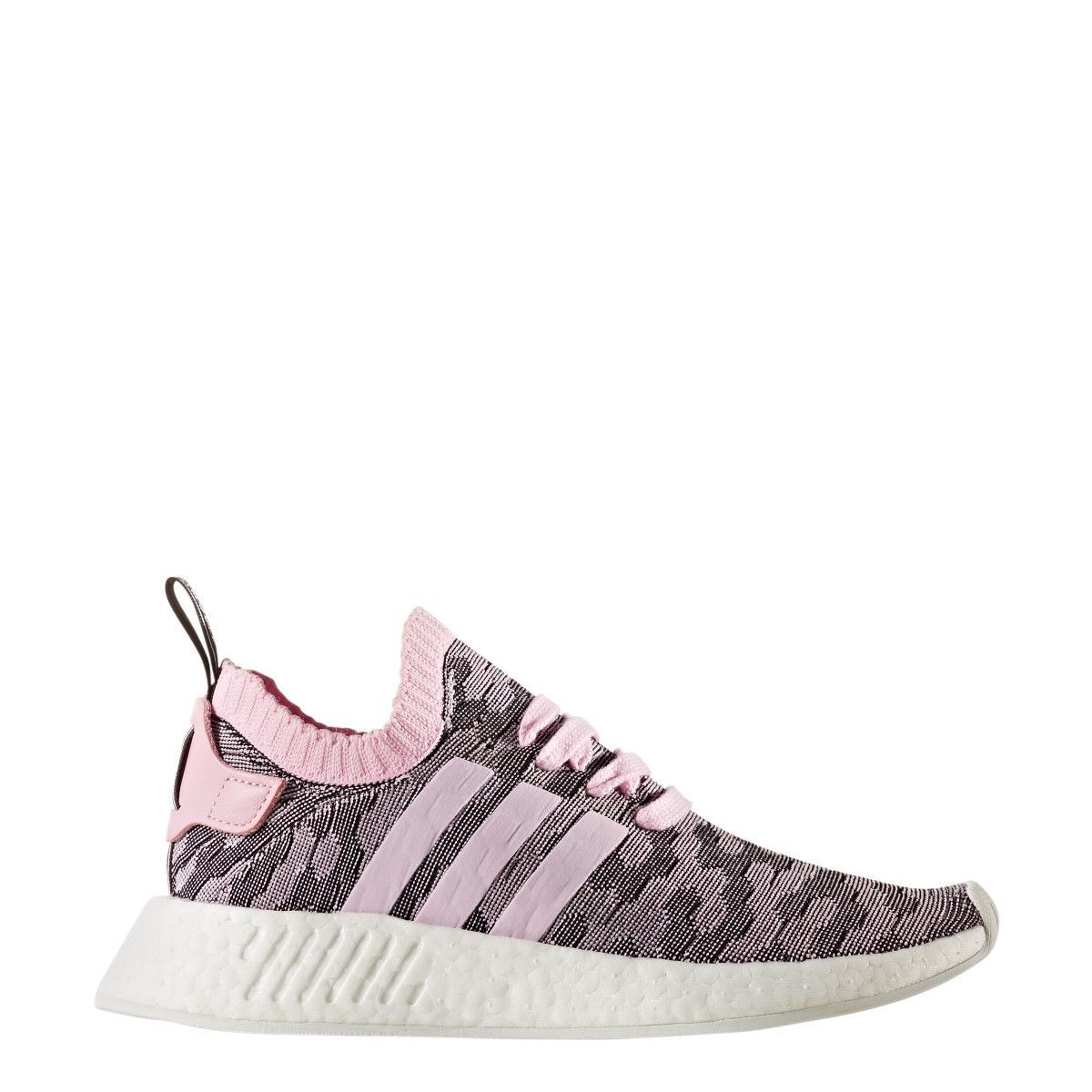CHANELLE X ROSEGOLD ADIDAS NMD R2 PK WOMENS SNEAKERS  20e1efecc