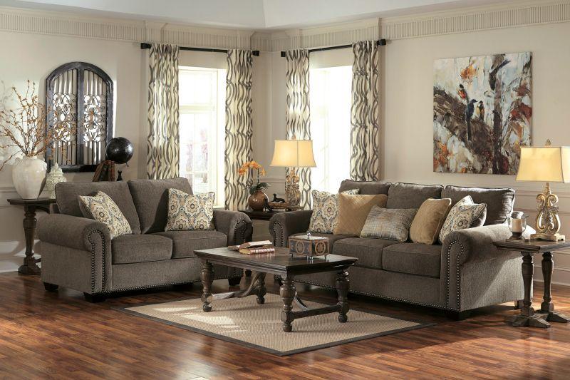 Ashley Emelen Alloy Living Room Sets Living Room Designs Furniture