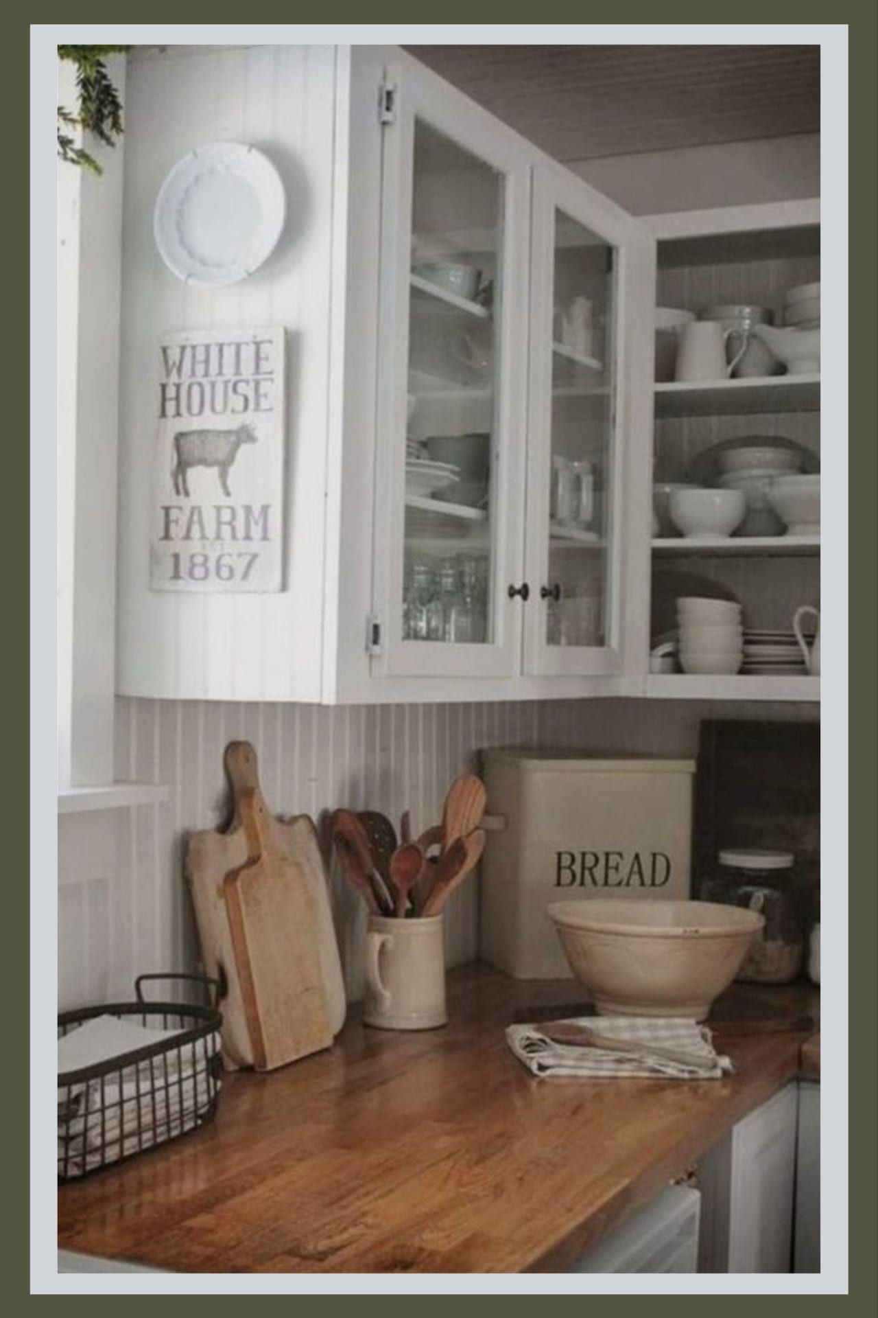 Farmhouse Kitchen Canister Sets And Farmhouse Kitchen Decor Ideas