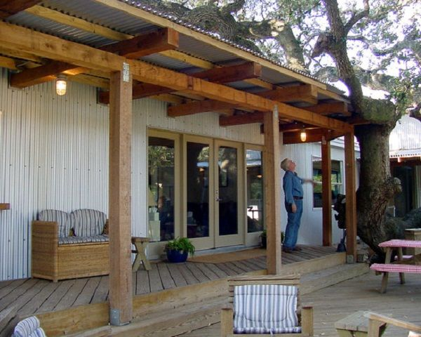 peachy mobile home deck ideas. The Texas Trailer Transformation  Mobile and Manufactured Home Living Metal roof Metals Google