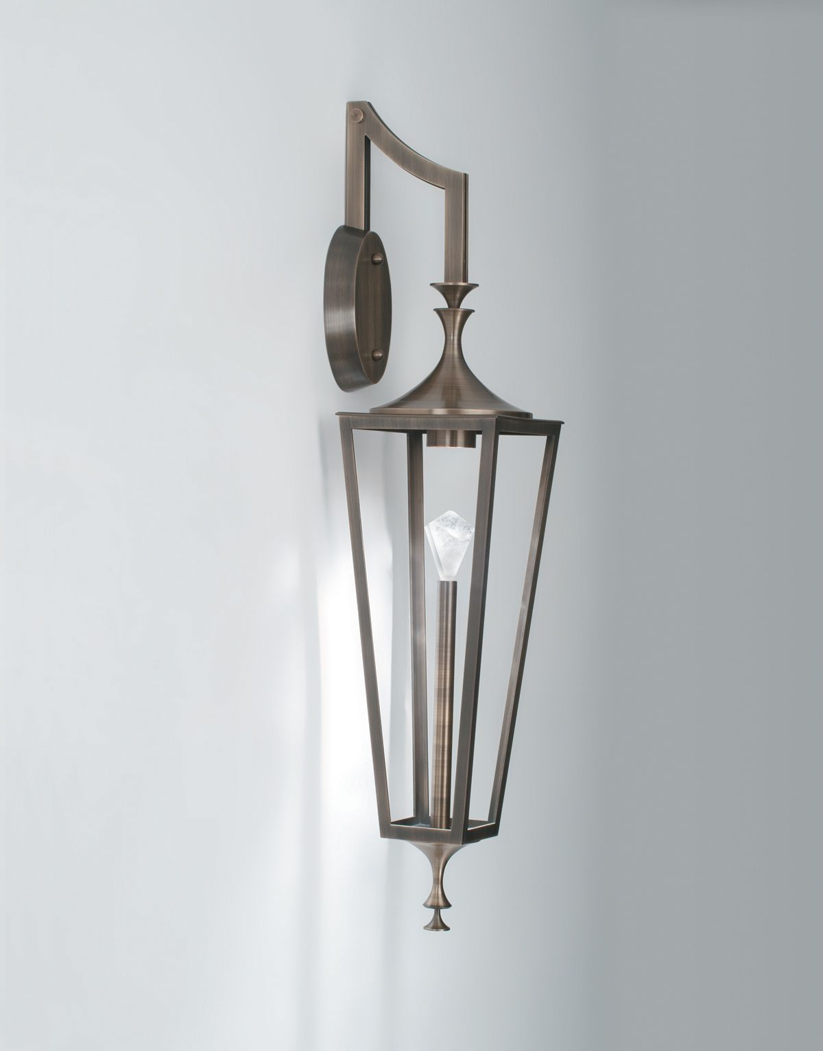 Boyd Lighting S Exterior Regent Sconce Was Designed By Roger Thomas It Has An Open Structure That Is Sure To Surprise And Delight This Fixture