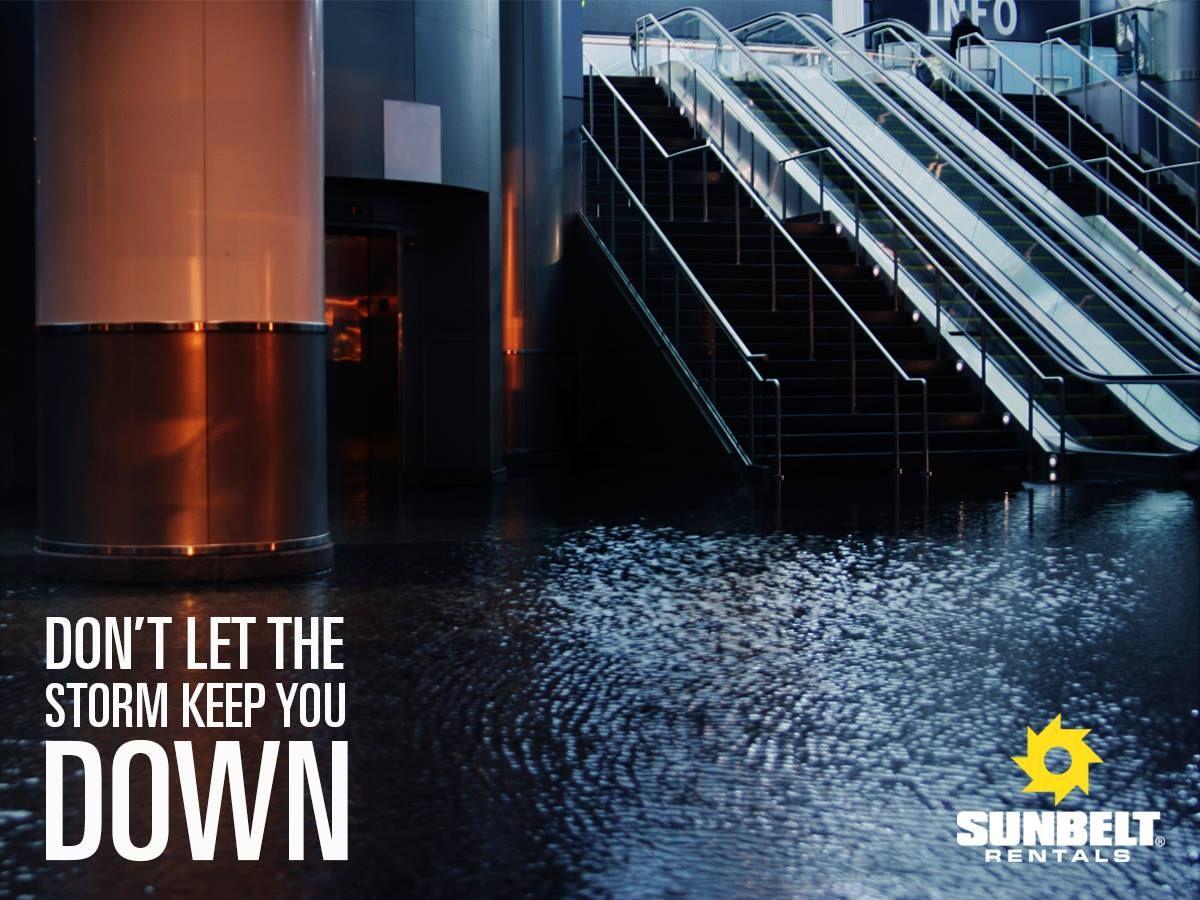 Sunbelt Rentals has the emergency equipment you need to