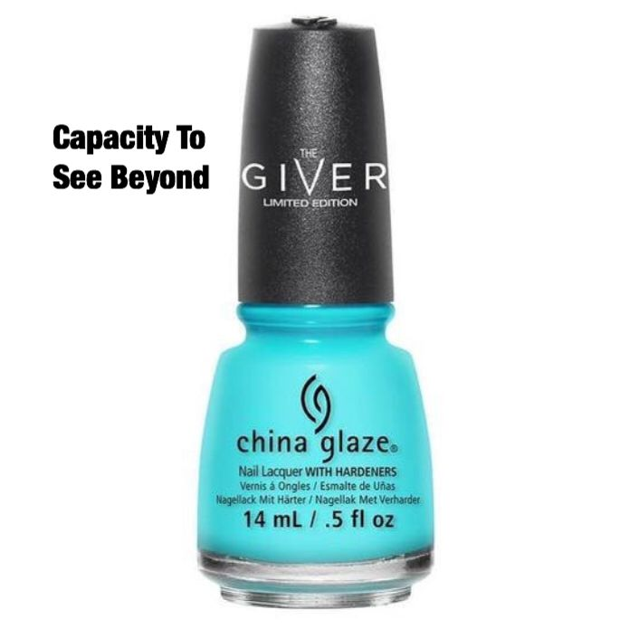 "China Glaze ""Capacity To See Beyond"""