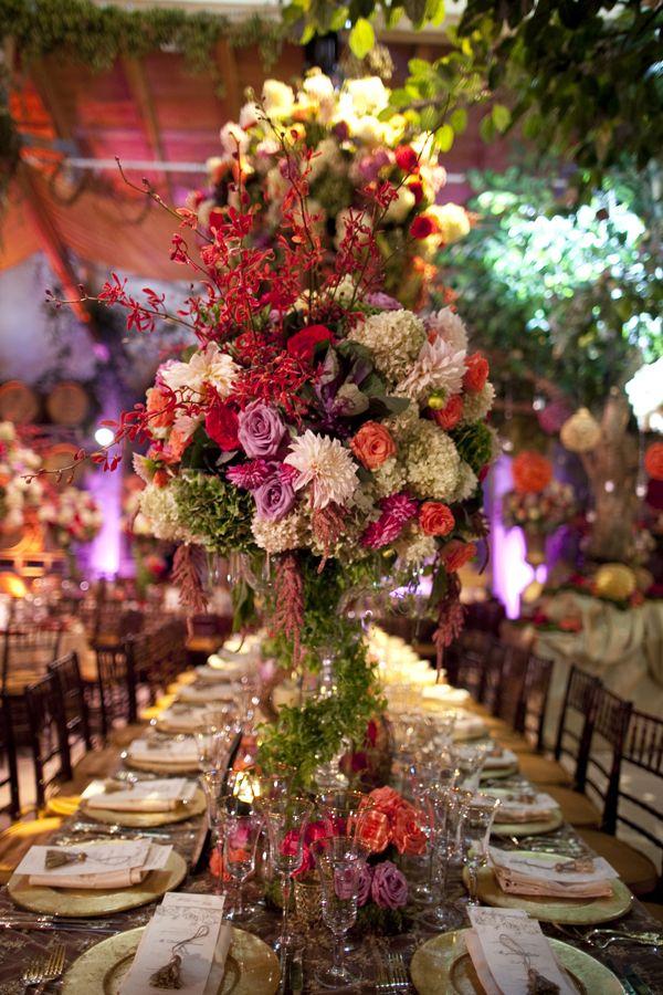 David Tutera Weddings Tall Centerpieces Wedding Planning