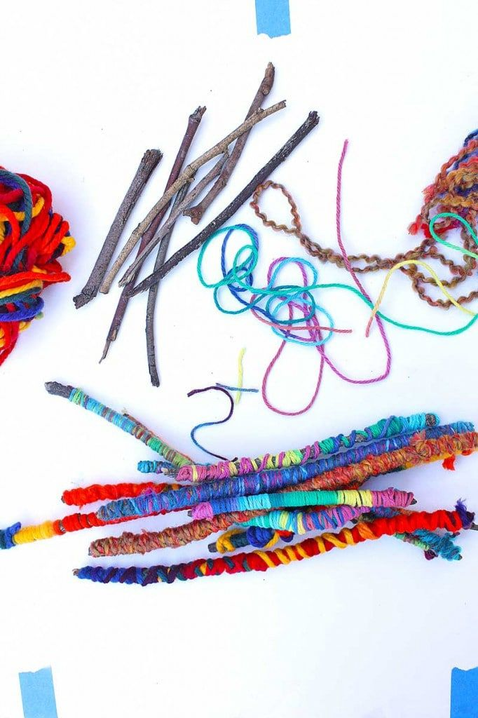 20 Beautiful Twig Crafts for Kids to Make #twigcrafts