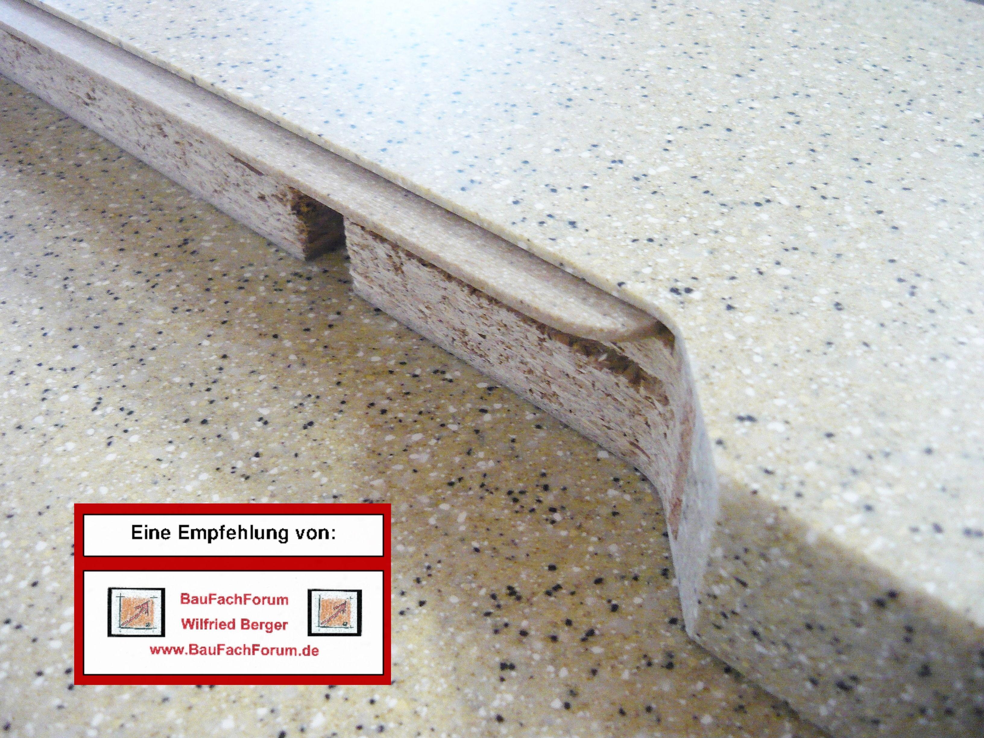 Baufachforum Schaden Sachverstandiger Wilfried Berger Verbindungsfugen Mineralsteinplatten Mineralwerkstoffe Getali Fenster Einbauen Arbeitsplatte Produkt