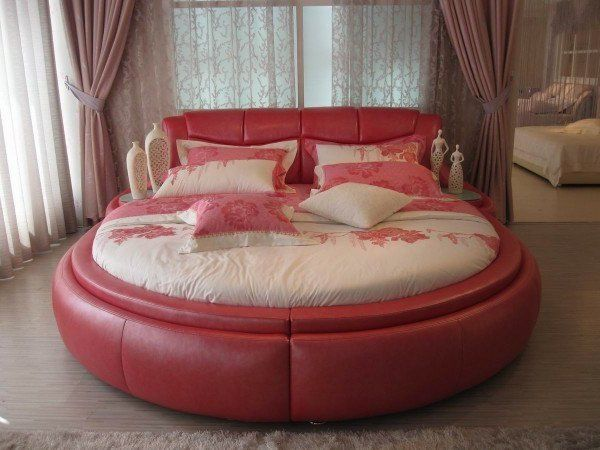 17 extravagant ideas of round furniture for every home style - Circle Beds Furniture