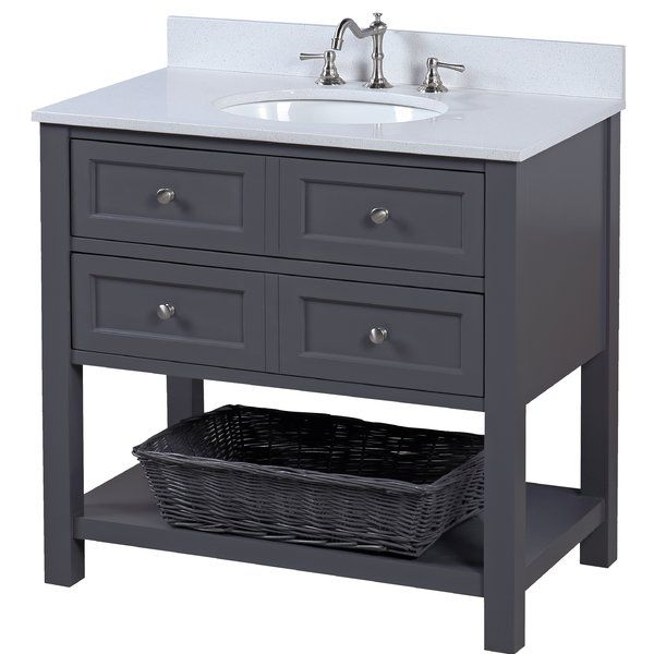 You 39 Ll Love The New Yorker 36 Single Bathroom Vanity Set At Joss Main With Great Deals On