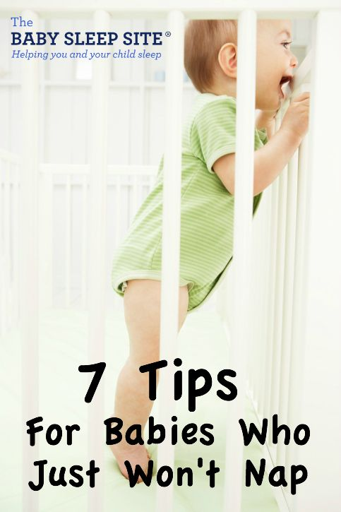 Baby and toddler naps are important to helping growth and development. Tips for what to do when your baby or toddler won't nap.