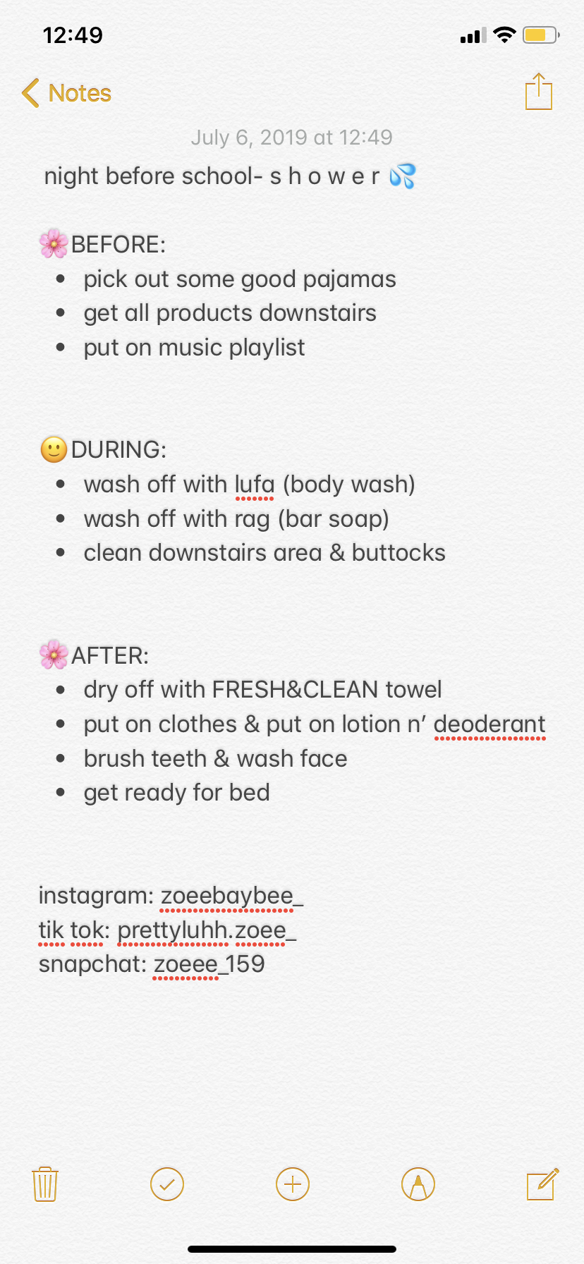 What I Will Be Doing On The Night Before School Im Going To 7th Grade Btw Night Before School School Morning Routine Before School Routine