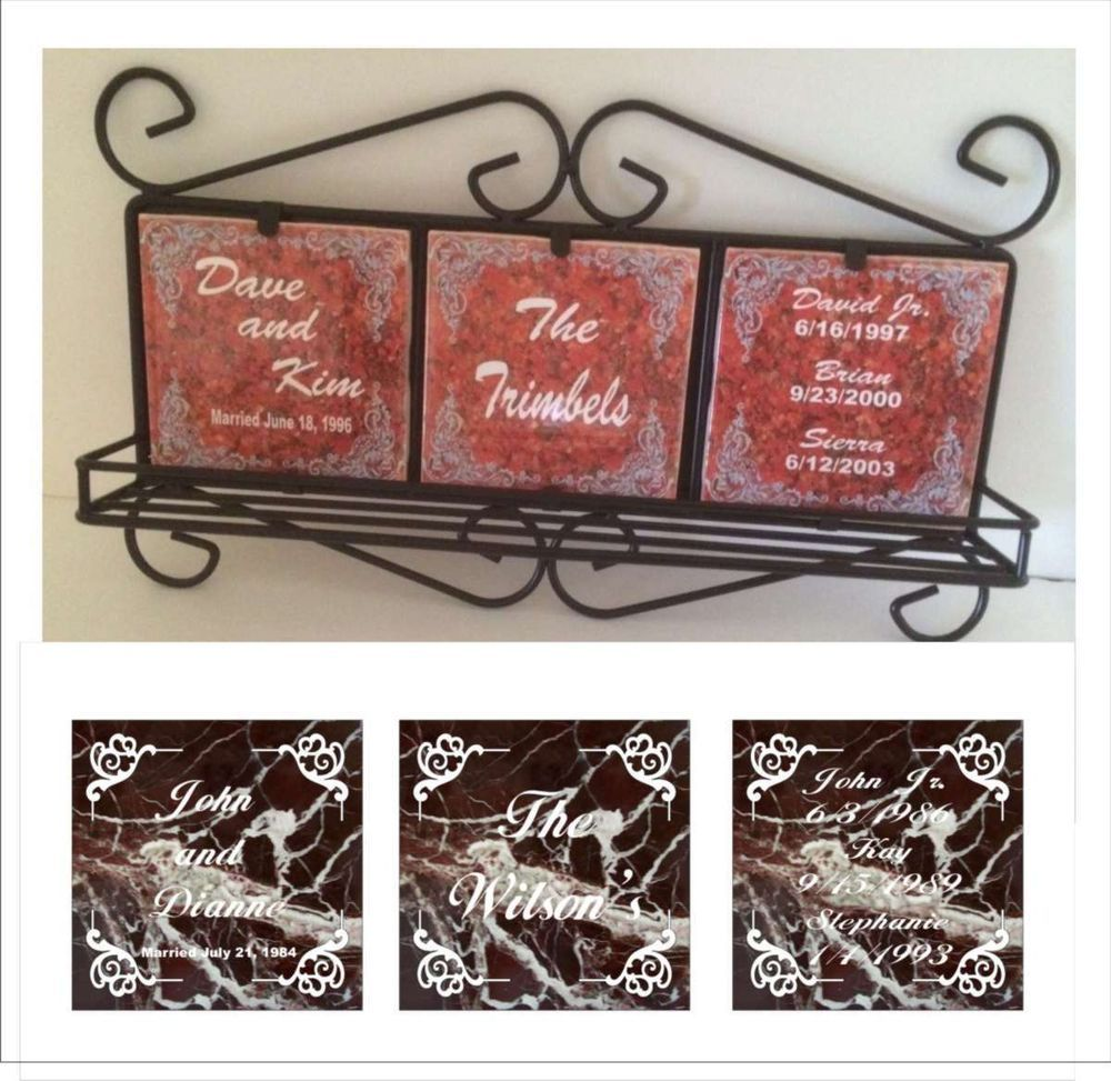 Personalized wrought iron ceramic tile frame with shelf ceramic personalized wrought iron ceramic tile frame with shelf ceramic tile marble 1 dailygadgetfo Choice Image