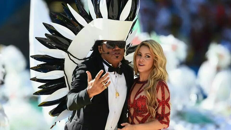Shakira And Carlinhos Brown