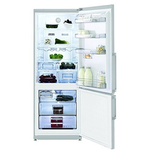 Fine  Blomberg KND 9861 X fridge-freezer / A +++ / cooling: 322 L / freezing: 114 L / stainless steel Fingerprint Free / duo-cycle no frost / Large Touch Control Display: Amazon.de: Large electrical appliances