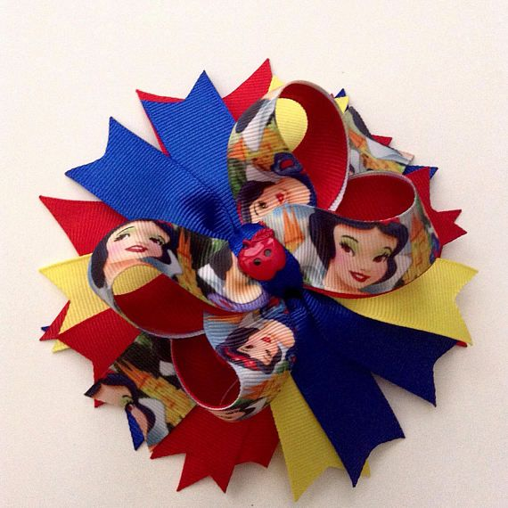 This Is A Beautiful Disneys Snow White Inspired Hair Bow