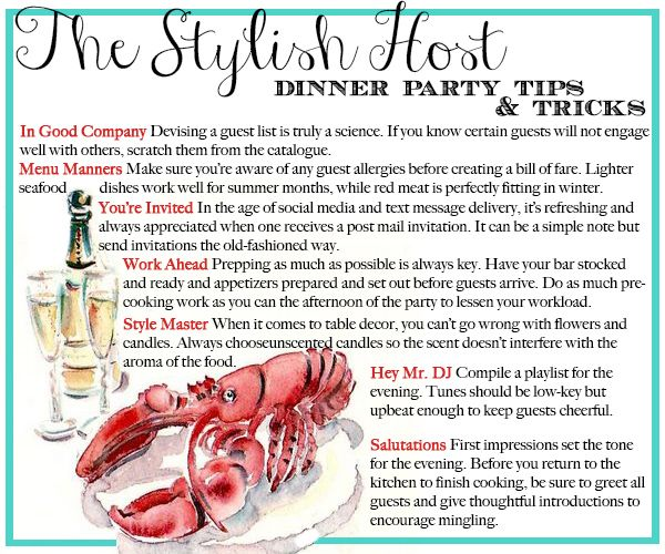 The Bride's Guide To Hosting A Dinner
