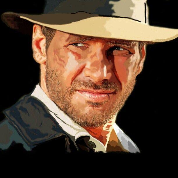 Retrato Photoshop    Harrison Ford