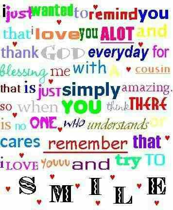 This Is For All My Cousins Even If There Guys Quotes Cute