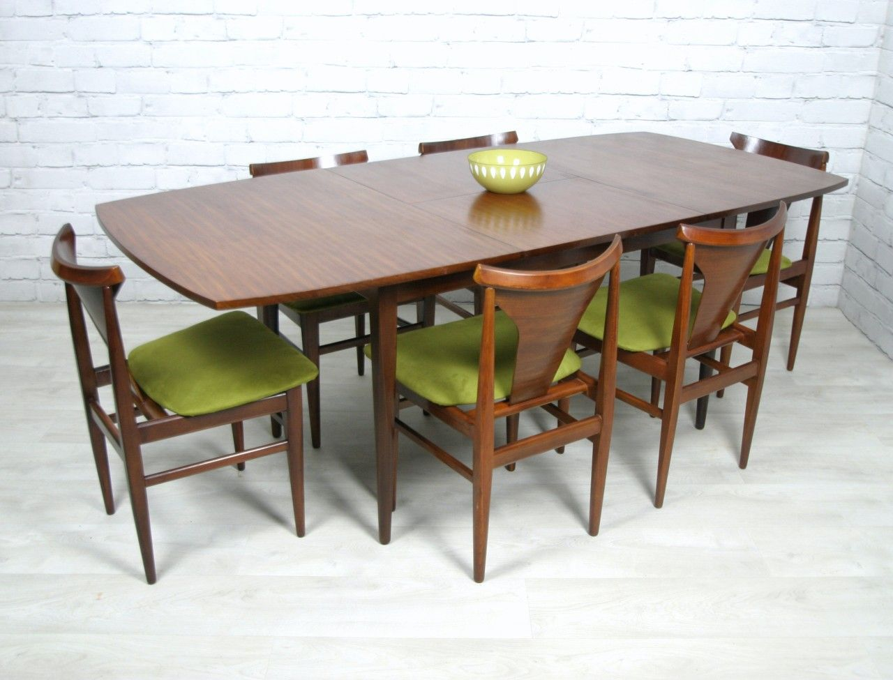 Love Love Love 6 Retro Vintage Teak Mid Century Danish Style Dining Chairs And Table Mid Century Modern Furniture Home Interior Design Mid Century Decor