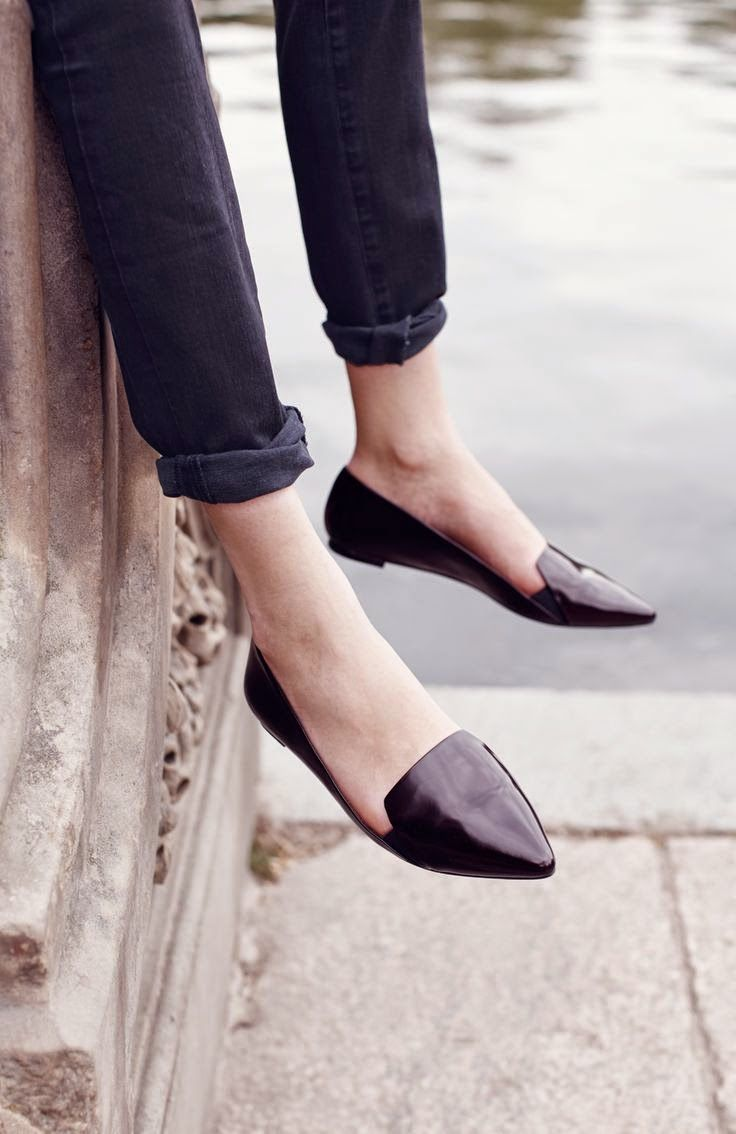 Photo of Point flats: ballerine e slippers a punta | Vita su Marte