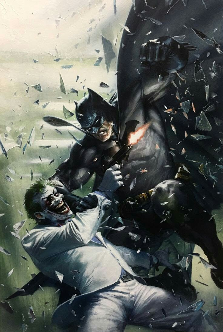 The Dark Knight Returns Batman Vs Joker Batman The Dark Knight