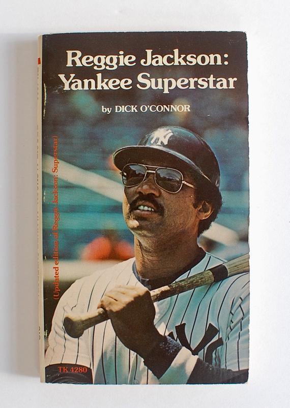Reggie Jackson Yankee Superstar Oconnor 1978 Scholastic Book And