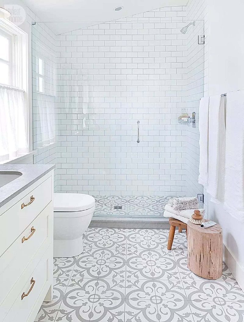 The 15 Best Tiled Bathrooms on Pinterest | Home Inspiration by Sam ...