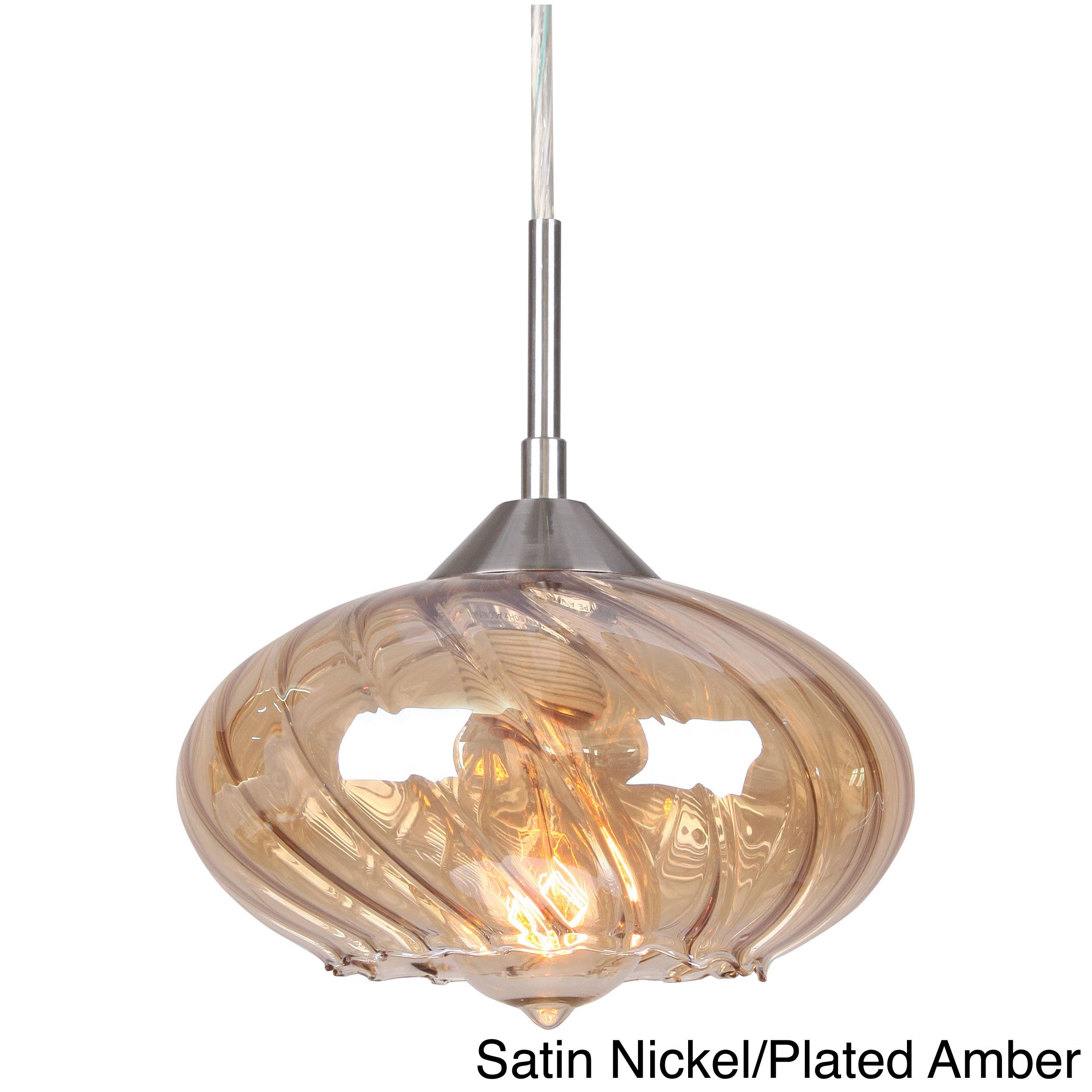 An Elegant Way To Add Lighting Your Home This Contemporary Mini Pendant Light Fixture Decorative Electrical Wiring Will Sophistication Decor The Shade Is Designed With Curved