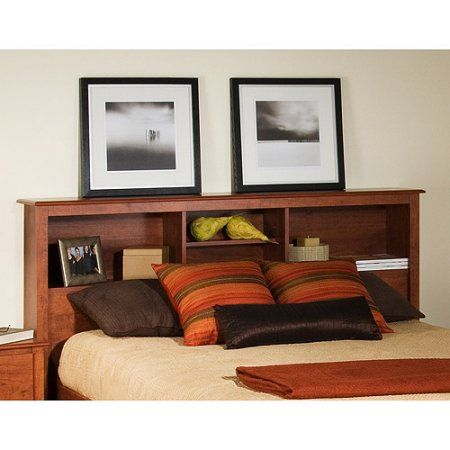 Marvelous Edenvale Full/Queen Storage Headboard, Cherry, Red | Storage Headboard And  Storage