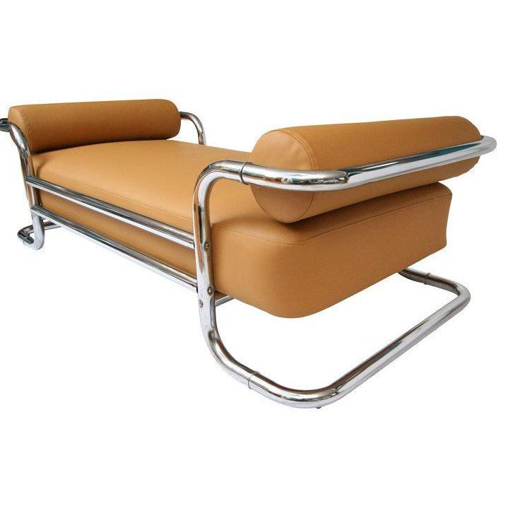 Bauhaus Emile Guillot for Attributed Bauhaus Daybed