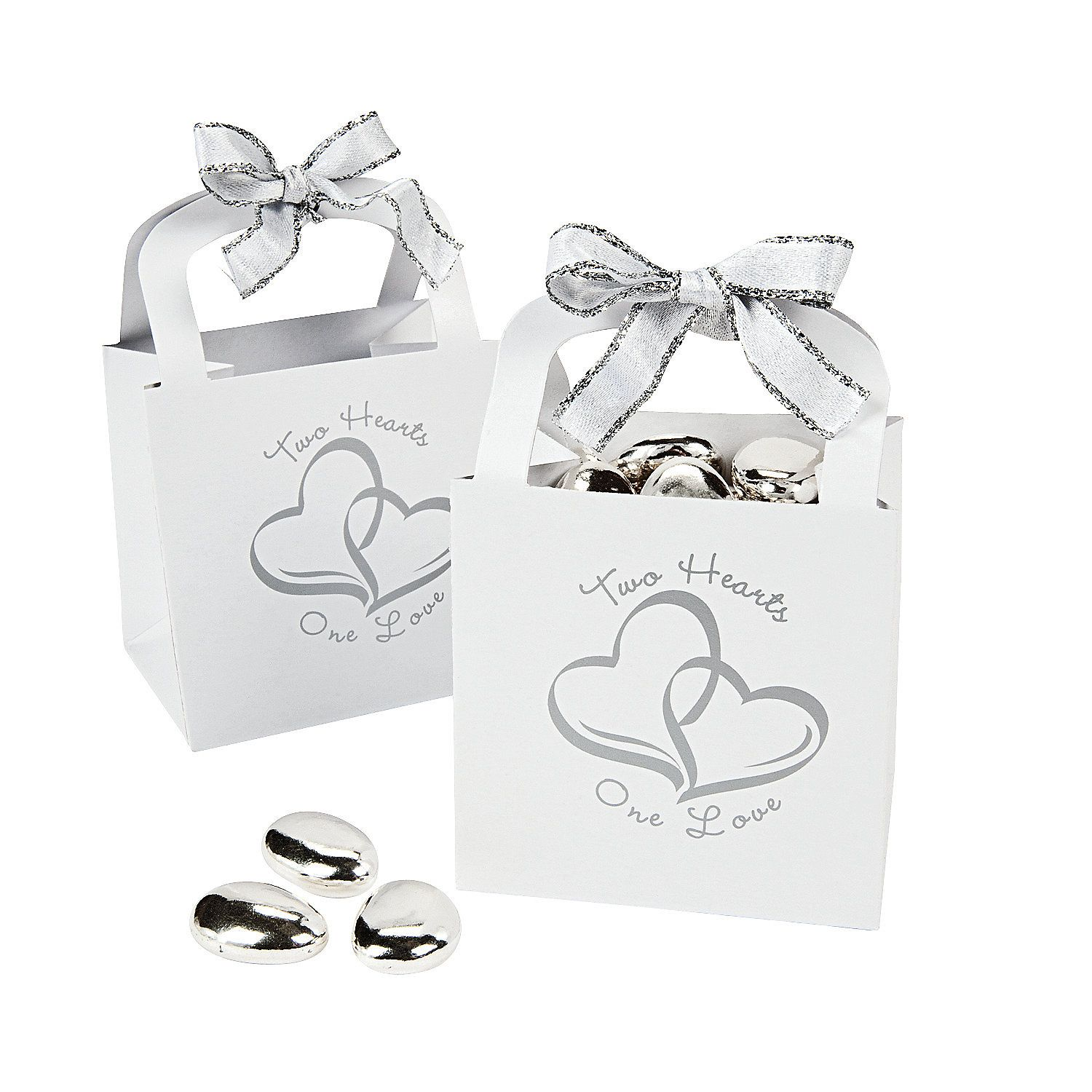 Two Hearts Wedding Favor Gift Baskets | Favors, Weddings and Wedding