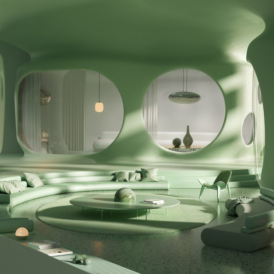 Photo of Andrés Reisinger Stunning 3D Interiors