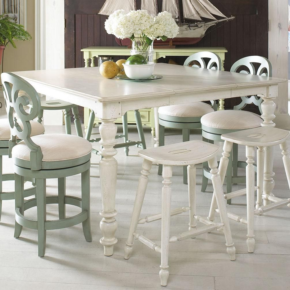 Casual High-Low Dining Table