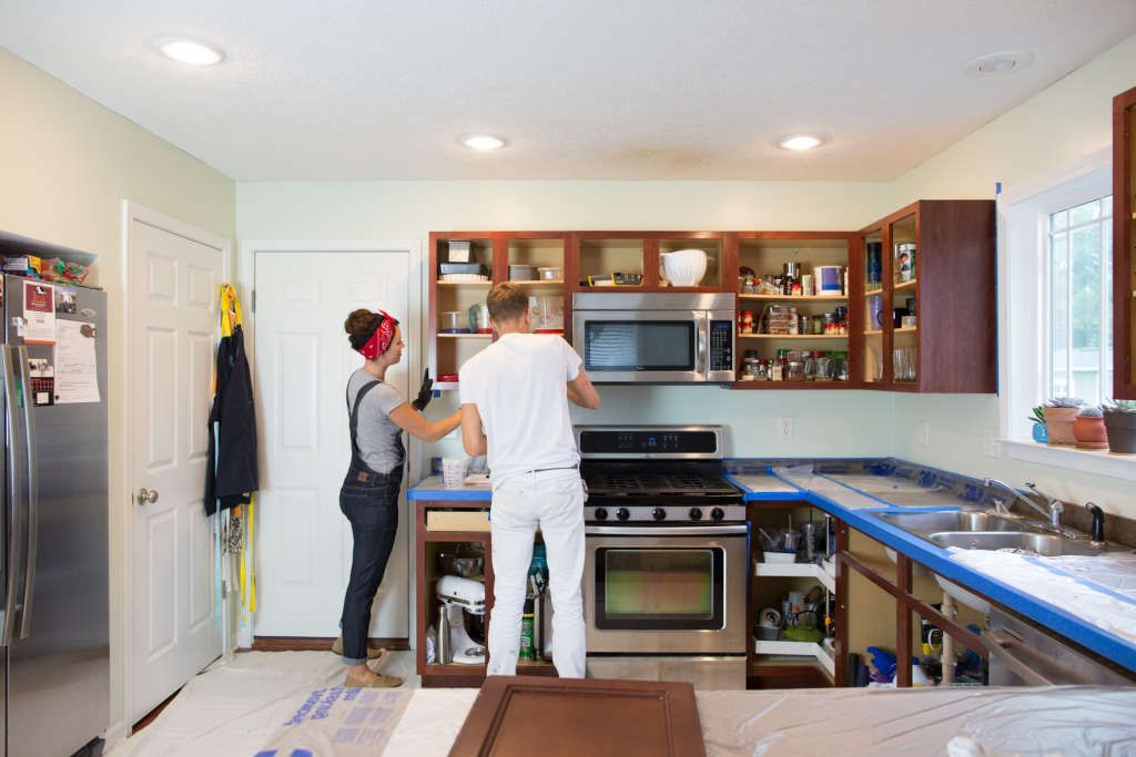 The Biggest Mistake I Made During My Budget Kitchen Reno Kitchens - Kitchen Renovation On A Budget