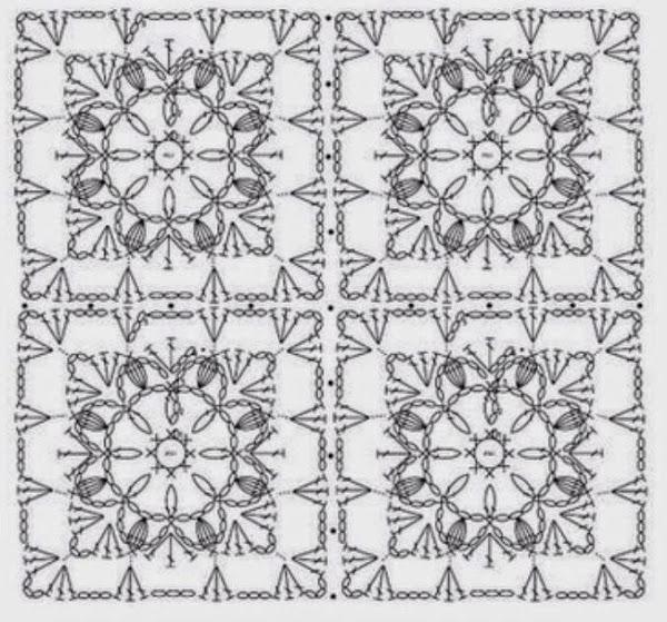 Cojines tejidos a crochet con gráficos para imprimir | Es facil ...