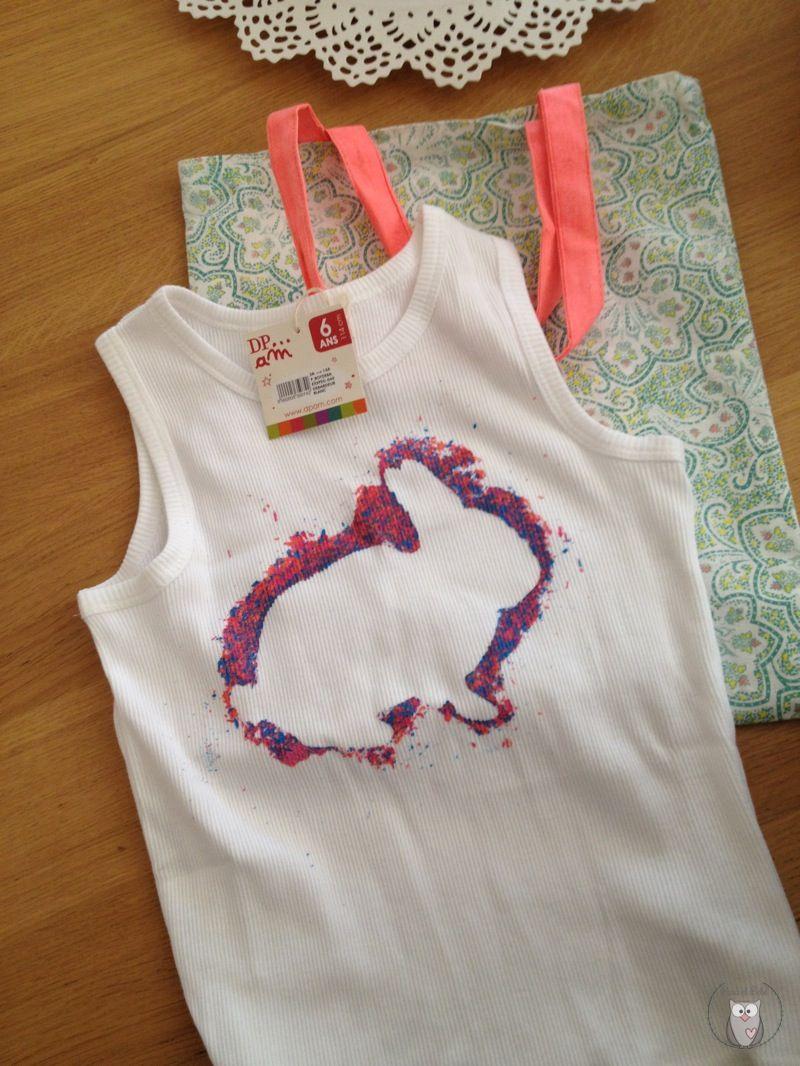 Estampar Camisetas Con Plastidecors Ideas Para Estampar En  ~ Ideas Para Decorar Camisetas Infantiles