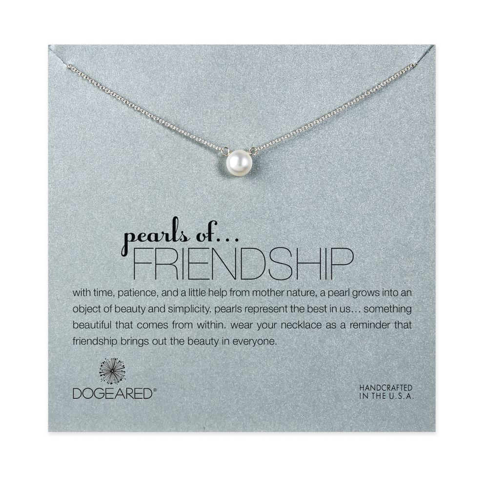 Quotes About Pearls And Friendship Amazing Pearls Of Friendship Small White Pearl Necklace Sterling Silver