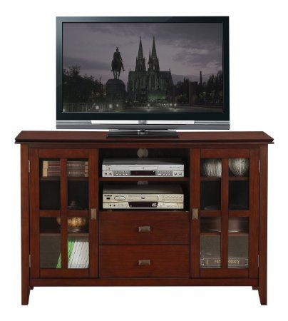 335 Amazon Com Simpli Home Axchol005 Artisan Collection 54 Inch Width By 36 Inch Height Tv S Tall Corner Tv Stand Tv Media Stands Tall Entertainment Centers 35 inch tall tv stand