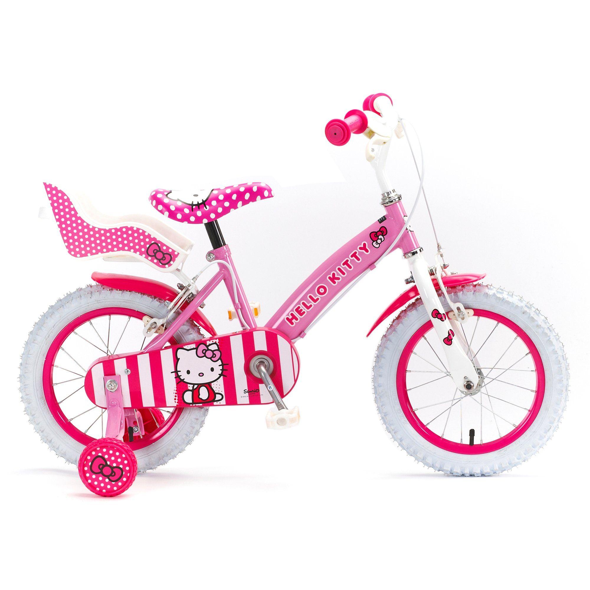 Halfords Hello Kitty Girls Bike 14 Kids Bike Boy Bike