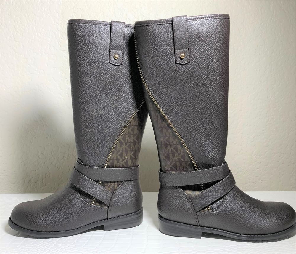ad339825e82 NEW MICHAEL KORS EMMA CLAIR BROWN BOOTS US SIZE YOUTH 13  fashion  clothing   shoes  accessories  kidsclothingshoesaccs  girlsshoes (ebay link)