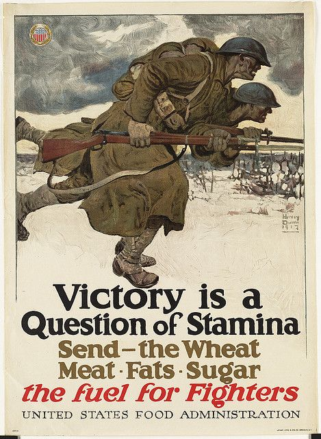 Victory Is A Question Of Stamina Military Poster Wwii Posters
