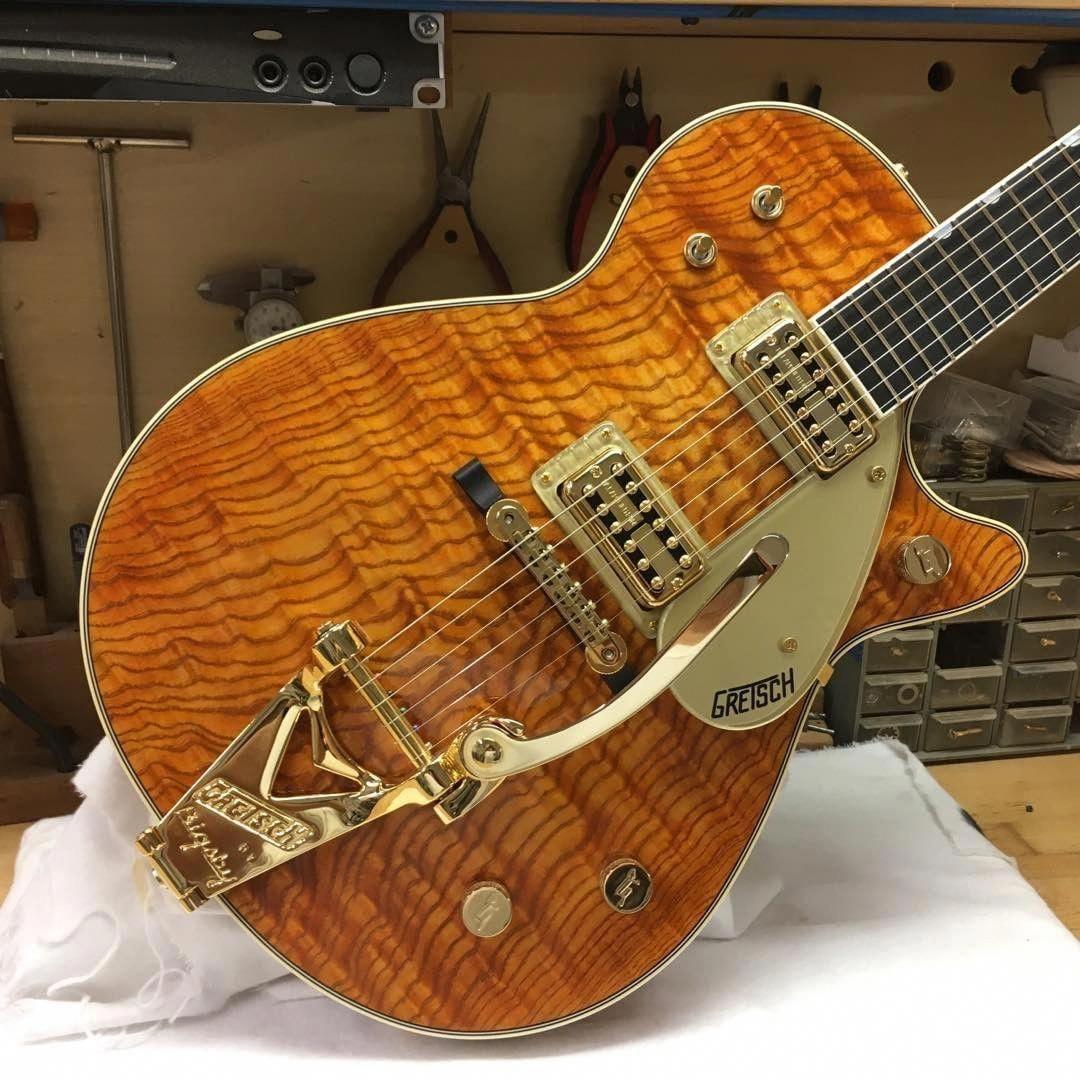 Gretsch Guitar Semi Hollow Gretsch Guitar Blue # ...