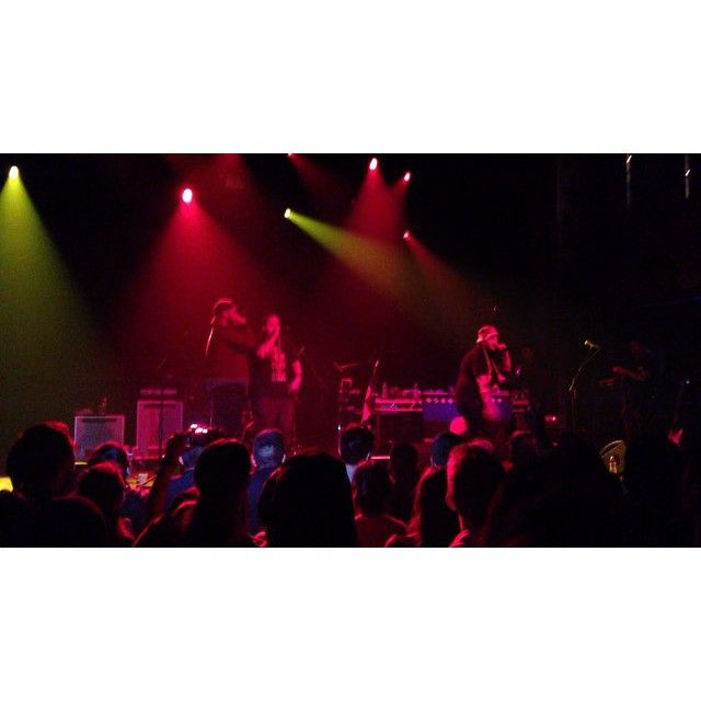 Rebel Diaz & Ana Tijoux performed on Sunday at Webster Hall
