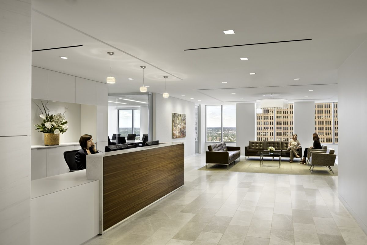 Office Renovation Ideas Ballard Spahr  Philadelphia Office Renovation  Office Reception
