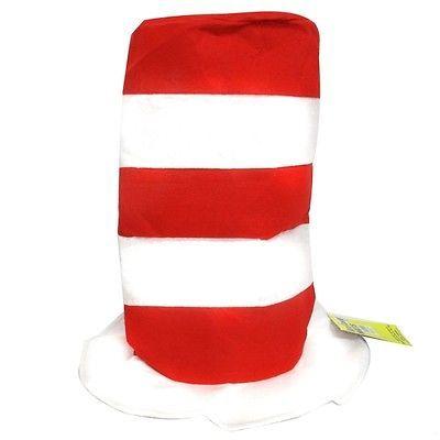 Red & White Striped Hat Pk 1