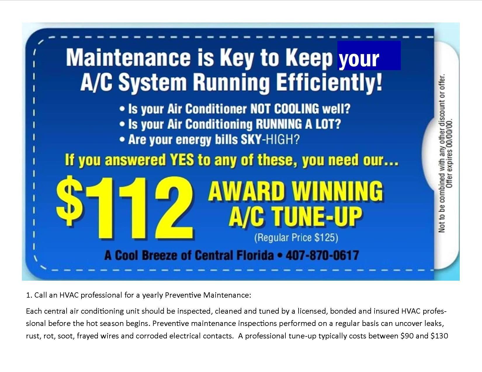 Hvac Maintenance Air Conditioner Service Hvac Services Hvac Maintenance