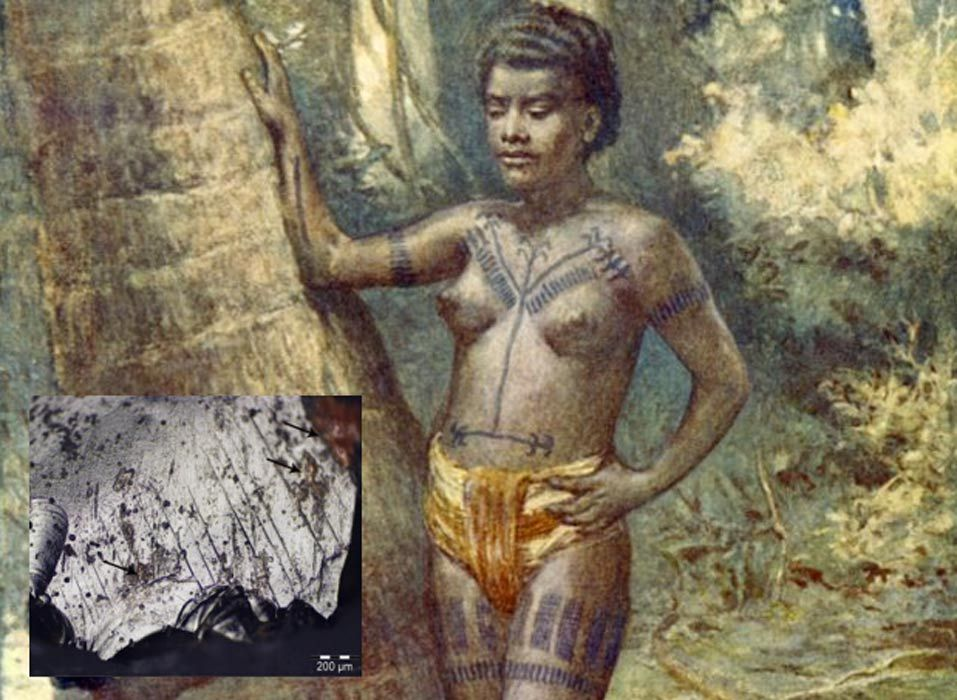 #Ancient #Tattoos: Archaeologists find Blood and Pigments on 3,000-Year-Old Obsidian
