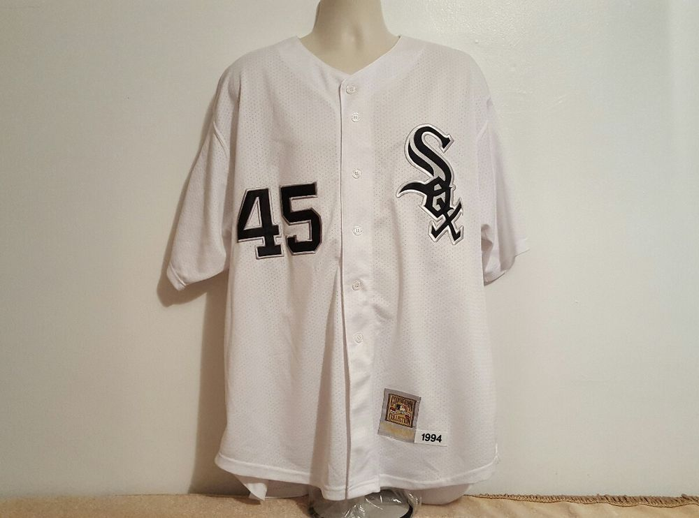 huge discount 5f1d5 ffd1e Michael Jordan Chicago White Sox 1994 Mitchell & Ness ...