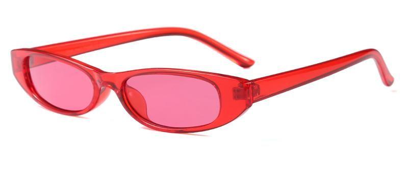 132ab73692f8 Peekaboo women trendy sunglasses small frame men unisex brown leopard red black  small sun glasses for women 2018 uv400