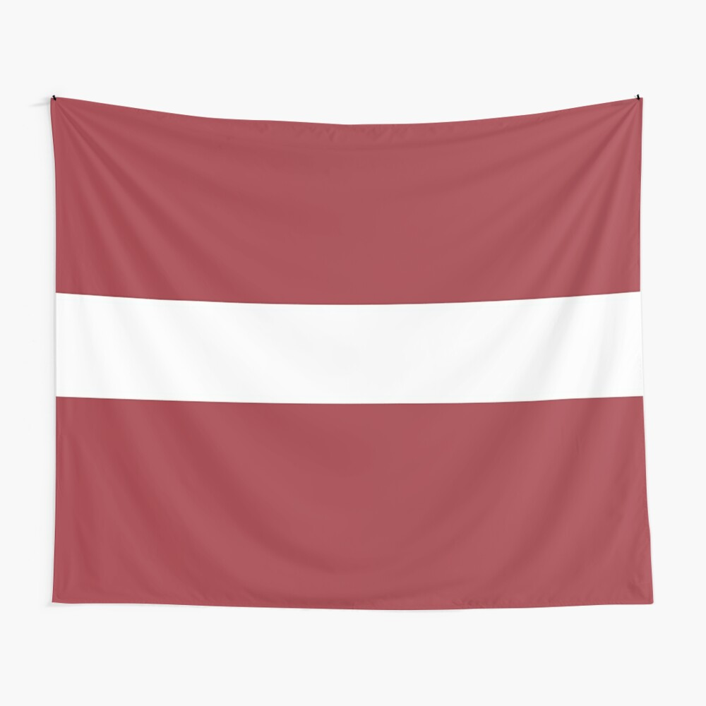 Flag Of Latvia Pattern Horizontal Stripes Red White Red Tapestry By Disordershop Red Tapestry Horizontal Stripes Red Walls
