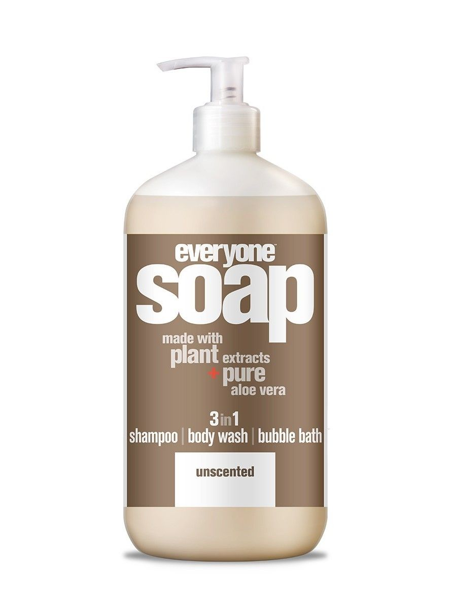 3 In 1 Soap Unscented Shampoo Body Wash Unscented Shampoo Body Wash